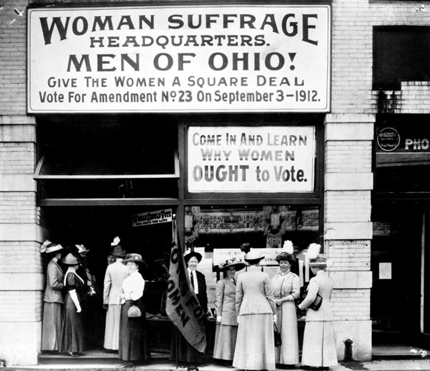 a history of the women suffrage movement in the united states Steven buecheler has written a comparative sociological analysis of the woman suffrage movement (1840s-1920) and the contemporary women's movement ( 1960s to the present) his identification of similarities and differences between these movements reveals persistent feminist issues over time as well as the distinctive.
